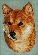 Pegasus Originals Shiba Inu Counted Cross Stitch Kit