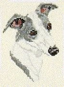 Pegasus Originals Whippet Counted Cross Stitch Kit