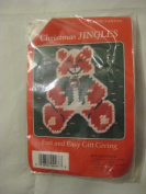 Christmas Jingles Needlepoint Bear Pin Kit