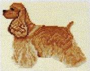 Pegasus Originals Cocker Counted Cross Stitch Kit Tan