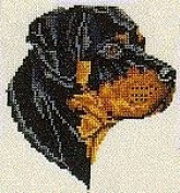 Pegasus Originals Rottweiler Counted Cross Stitch Kit