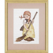 Little Sweeper M.j. Hummel Counted Cross Stitch