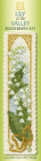 Textile Heritage Lily of the Valley Counted Cross Stitch Bookmark Kit