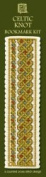 Textile Heritage Celtic Knot Counted Cross Stitch Bookmark Kit