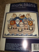 Noah's Ark-Munchkins-Counted Cross Stitch Kit
