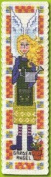Textile Heritage Counted Cross Stitch Bookmark Kit - Garden Angel