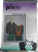 Windowpane Jacket & Vest P-A-W Prints Pattern Size XS through 3X