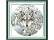 Happy Forever Cross Stitch,The animals, The soul of the Wolf