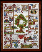Tobin Families ABC Sampler Counted Cross Stitch Kit