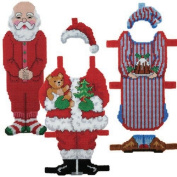 Craftways Santa Paper Doll Plastic Canvas Kit