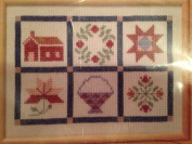 The Creative Circle 1648 Autumn Quilt Block Sampler 30cm X 41cm
