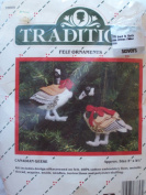 Canadian Geese Felt Ornaments Kits