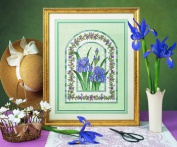 Iris Mosaic - Cross Stitch Kit