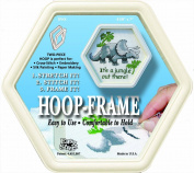 Easy Street Crafts SFHX Hexagon Hoop-Frame, 2 Parts, 16cm by 18cm , Cream