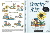 Country Mice - 13 Embroidery Designs from EZ Sew Designs