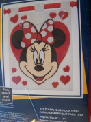 Minnie Mouse Fabric Applique Kit