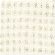 Zweigart 28Ct Cashel Linen-46cm X 70cm Needlework Fabric - Antique White