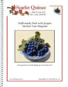 Delft-made Dish with Grapes - Michiel Van Huysum