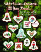Easy Street Crafts Christmas Ornament Designs Package