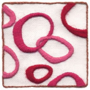 """Love Loops"" crewel embroidery kit by Wool & Hoop"