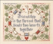 Sweetheart Tree Friendship Counted Cross Stitch Kit
