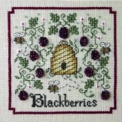 Sweetheart Tree A Buzz for Blackberries Counted Cross Stitch Kit