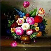 Monalisa Stamped Cross Stitch- Flowers