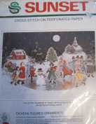 Dickens Figures Ornaments Cross Stitch Kit