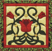 Christmas Tulip Quilt Magic Kit Quilt Magic Kit