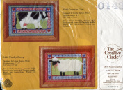 The Creative Circle Country Cow Stitchery Kit