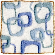 Hip Squares Crewel Embroidery Kit by Wool & Hoop