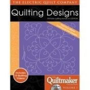Electric Quilt The Quiltmaker Volume 7 Printable Quilting Stencils on CD-ROM