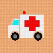 Ambulance Needlepoint Canvas