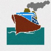 Cruise Ship Needlepoint Canvas