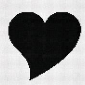 Heart Needlepoint Canvas