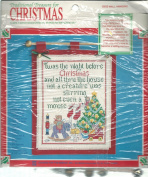 Traditional Treasure for Christmas 1910 Counted Cross Stitch Kit Wall Hanging Night Before Christmas