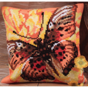 Collection D'art Flamme Pillow Cross Stitch Kit 15 3/4'X15 3/4'
