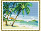 Happy Forever Cross Stitch, the Scenery, the beach