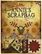 ANNIE SCRAPBAG waggon WEST DESIGNS 7 QUILT PROJECTS