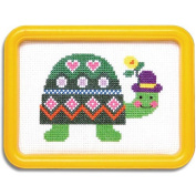 Easy Street Smiling Turtle Counted Cross-Stitch Kit