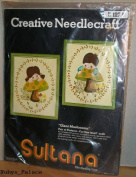 "Creative Needlecraft Sultana ""Giant Mushrooms"""