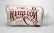 Hobbs Heirloom Premium 80/20 Cotton Blend Batting Twin Size