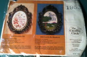 Lord Is My Shepherd - Creative Circle Cross Stitch Kit with Frame No. 1952