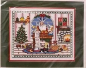 Bacillary Christmas 38cm x 30cm Counted Cross Stitch Picture