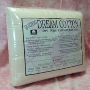 Quilter's Dream Cotton Batting-Natural Select Mid Loft-Double