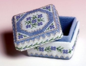 The Nutmeg Company Periwinkle Box 3D Cross Stitch Kit