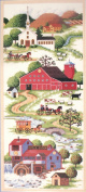 Peaceful Country Side - Counted Cross Stitch Kit