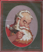 Sincerely, Santa Counted Cross Stitch Kit