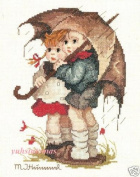 JCA Hummel Needle Treasures Counted Cross Stitch kit - Stormy Weather