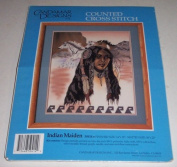 Indian Maiden Counted Cross Stitch Kit